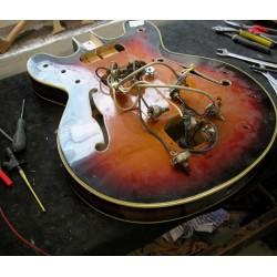 Forfait réparation électronique sur guitare ou basse