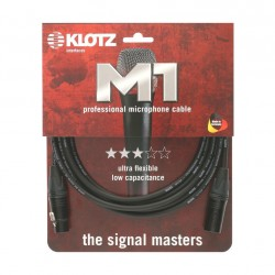 Cable micro XLR Klotz M1 Neutrik 20 metre