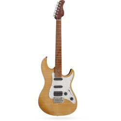 Guitare électrique Sire by Larry Carlton S7 FM NT naturelle flammée