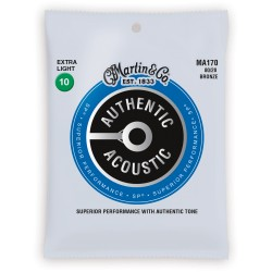 Cordes acoustique Martin extra light 10-47
