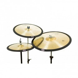 Pack de 3 sourdines cymbales Cymbomute
