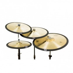 Pack de 4 sourdines cymbales Cymbomute