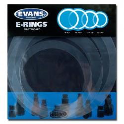 cercles atténuateurs pour batterie standard Evans ER-STANDARD