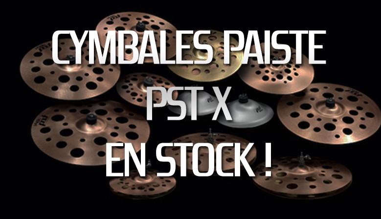 Cymbales Paiste PSTX